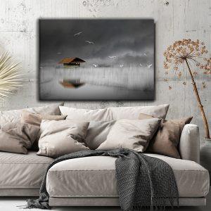 lake house - canvas