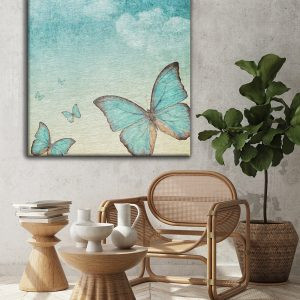 Vintage Butterflies-Canvas